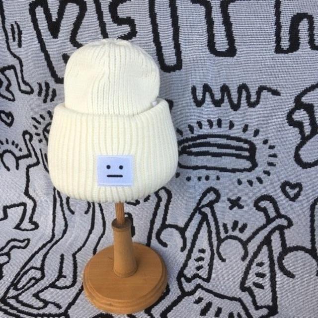 TOPANGA Accessory ソリッドニット帽 ホワイト