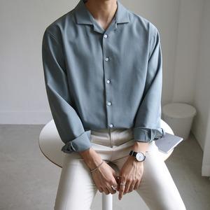 ベーシックオープンカラーシャツ BL6502