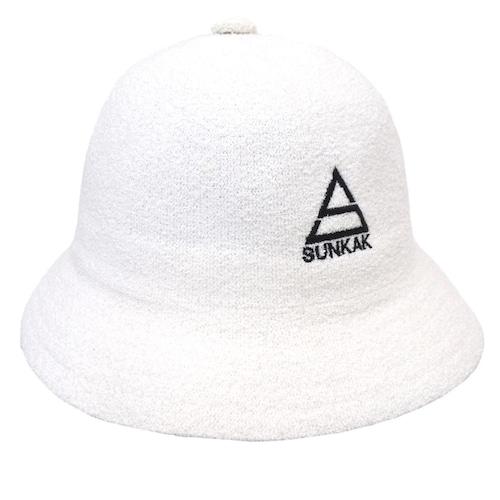 SUNKAK PILE BALL HAT WHITE