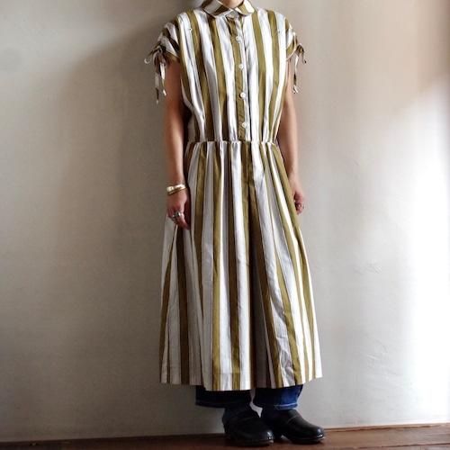 80's Stripe Dress / 80年代 ストライプ ドレス