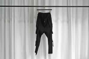 ASKYY / BONDAGE PANTS / BLK