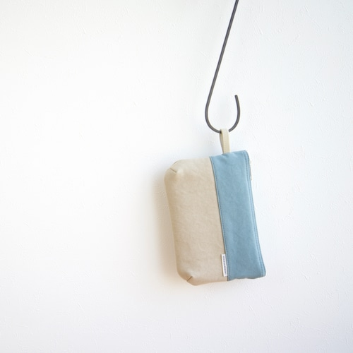 CANVAS FLAT POUCH S / IG×GB