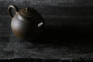 豊増 一雄 唐津紫砂茶壷