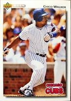 MLBカード 92UPPERDECK Chico Walker #617 CUBS