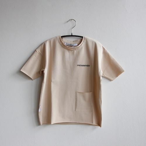 《MINGO. 2021SS》Limited T-shirt / butter cream