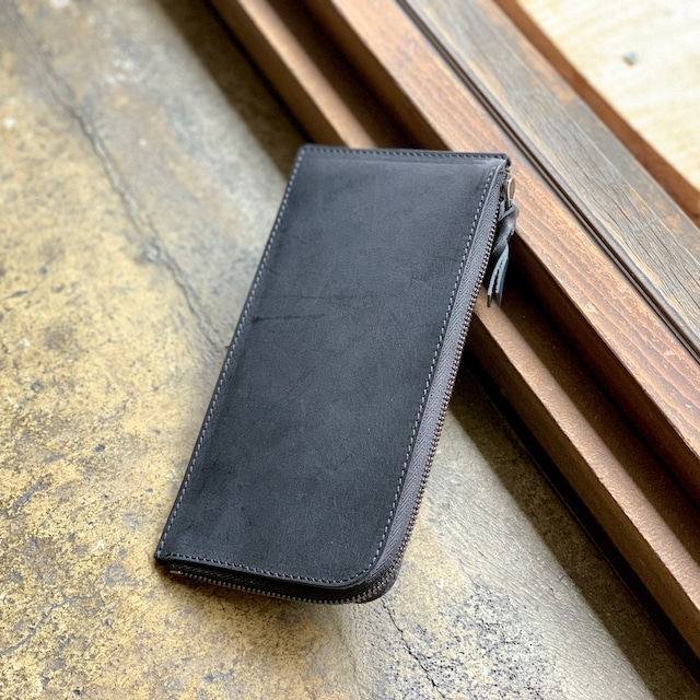 「SLIM LONG WALLET」Italy Leather