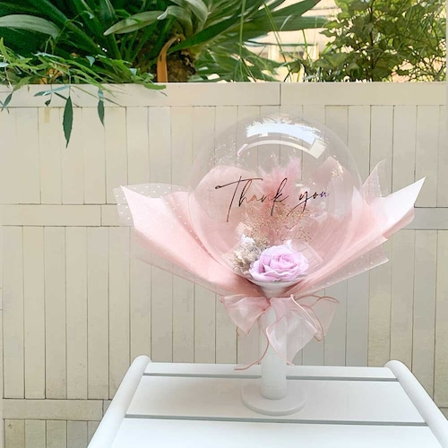 BALLOON FLOWER BOUQUET - downey -
