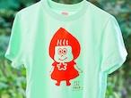 トマずきんちゃんTシャツ☆150cm~XLサイズ☆オーダー商品☆綿100%☆メンズ・レディース☆手刷りTシャツ