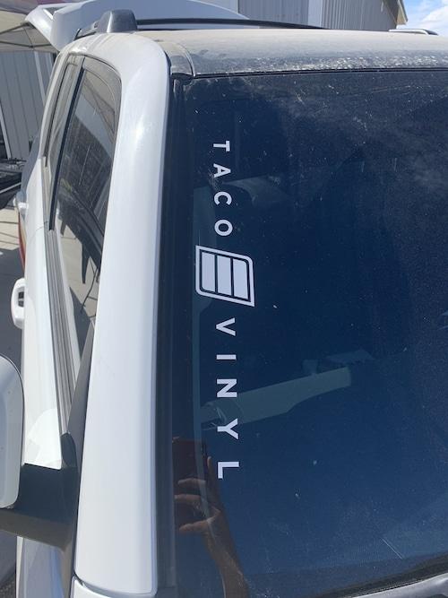 【 TacoVinyl 】Taco Vinyl Logo Decal