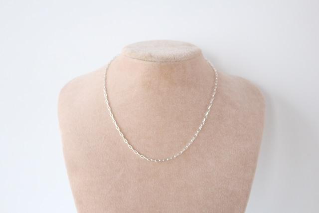 minimal chain necklace(40cm)