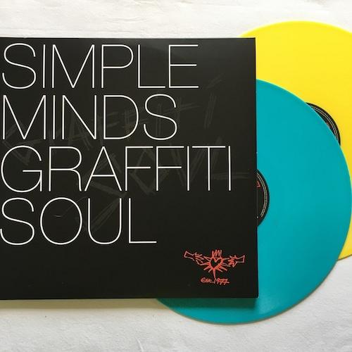【LPx2・英盤】Simple Minds / Graffiti Soul