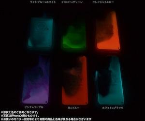 蓄光ネオンサンドiPhoneケース★マヌルネコ