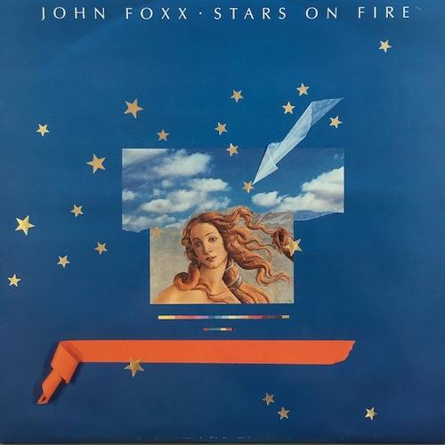 【12inch・英盤】John Foxx / Stars On Fire