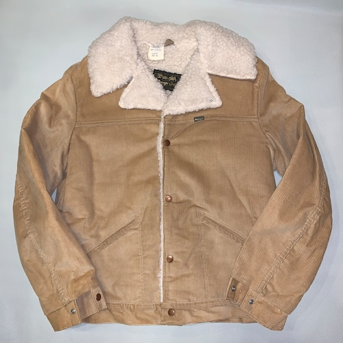 Wrangler Wrange coat ランチコートJL457ST / Corduroy  M-s  70-80's Dead stock  #103