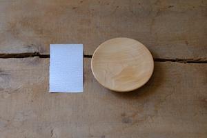 手づくりキット【木地だけセット】木のお皿φ13cm