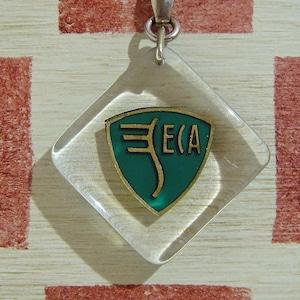 フランス SECA 飛行機メンテナンス会社企業エンブレム ブルボンキーホルダー