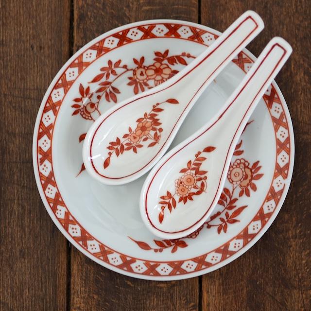 『コーラルクレストのレンゲ』ペニンシュラ食器/香港