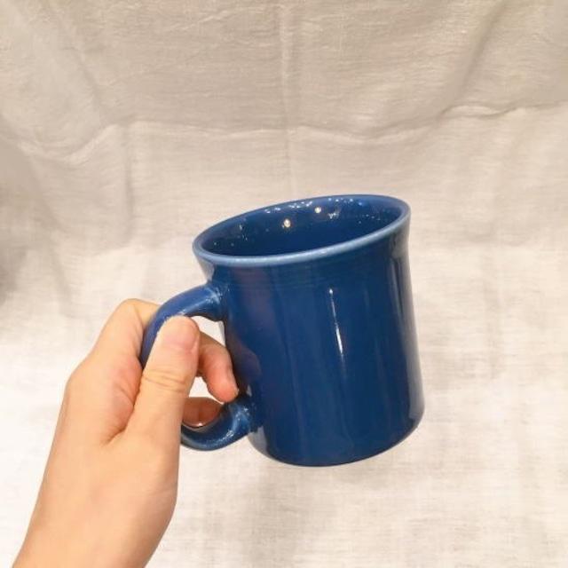 Fiesta マグカップ ブルー