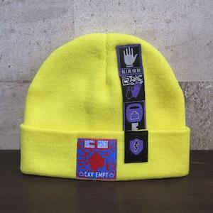 C.E PATCHED KNIT CAP