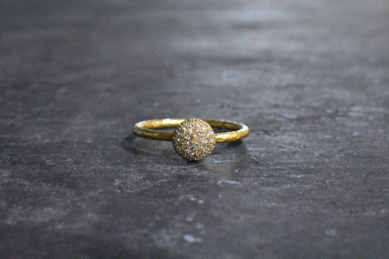 クラシック ~ ダイヤモンドリング『ラウンドタイプ』 / K24