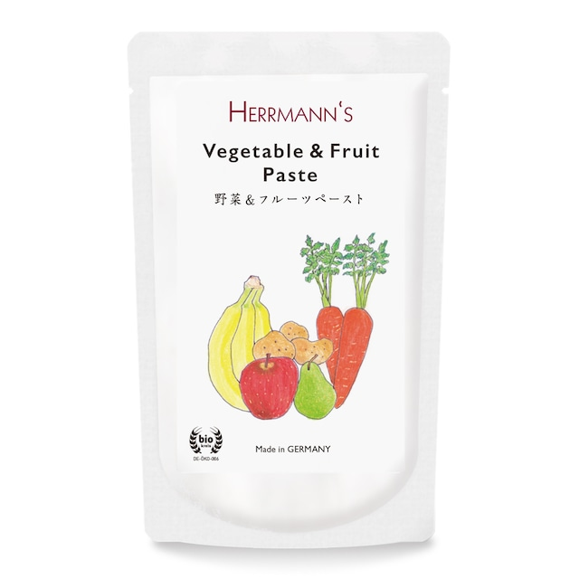ヘルマン 野菜&フルーツ・ペースト