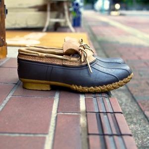 1990s L.L.Bean Bean Boots / ビーンブーツ ラバーモカシン US 8M