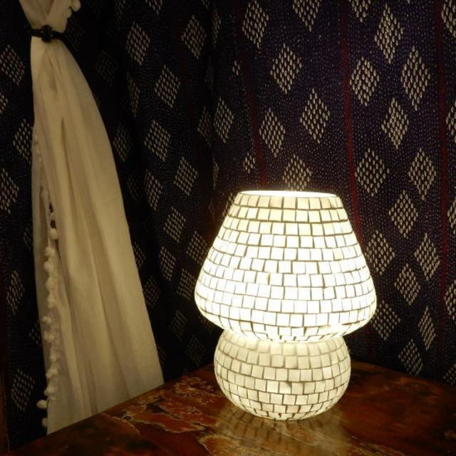 TOPANGA Lighting モザイクガラス スタンドランプ