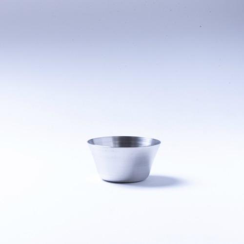 韓国ステンレス食器/カップ/深型(2号)【直径6㎝/高さ3.3㎝】