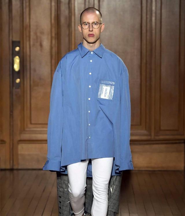HED MAYNER - Garment back shirt - S402