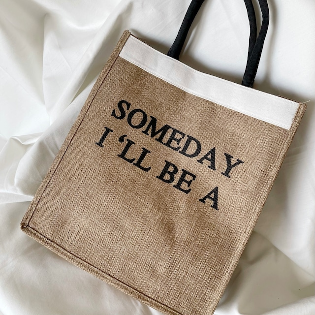someday... リネントートバッグ