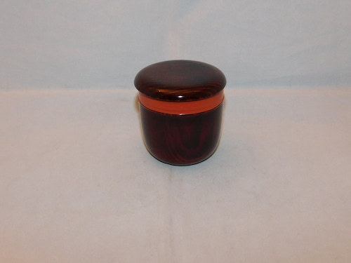 漆お棗 lacquer ware tea boxe (Jujube)
