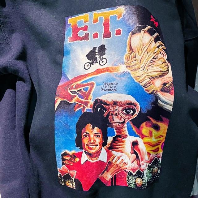 MO' E.T.? HOODED PARKA NAVY L