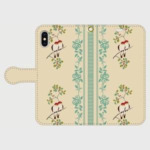 博多献上×小鳥 iPhone専用・手帳型(帯あり)