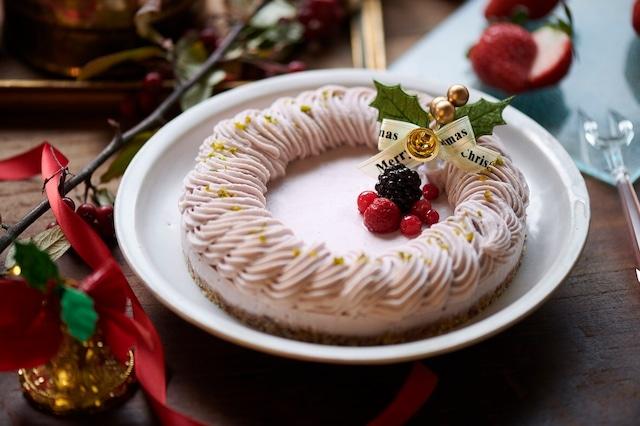 ★通販ショップ移転★(15cm)ビーガンローストロベリーケーキ《卵・乳製品・小麦・白砂糖不使用 ヴィーガン&グルテンフリー 冷凍》