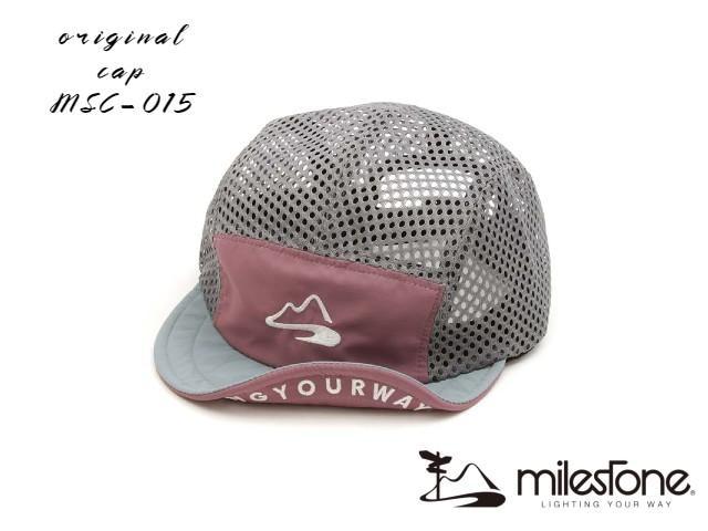 【milestone】 Full mesh cap (Cabernet)