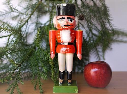 くるみ割り人形 クリスマス エルツ民芸品 東ドイツDDR