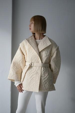 MARTE / Nature Line Quilting・ Vest (white)