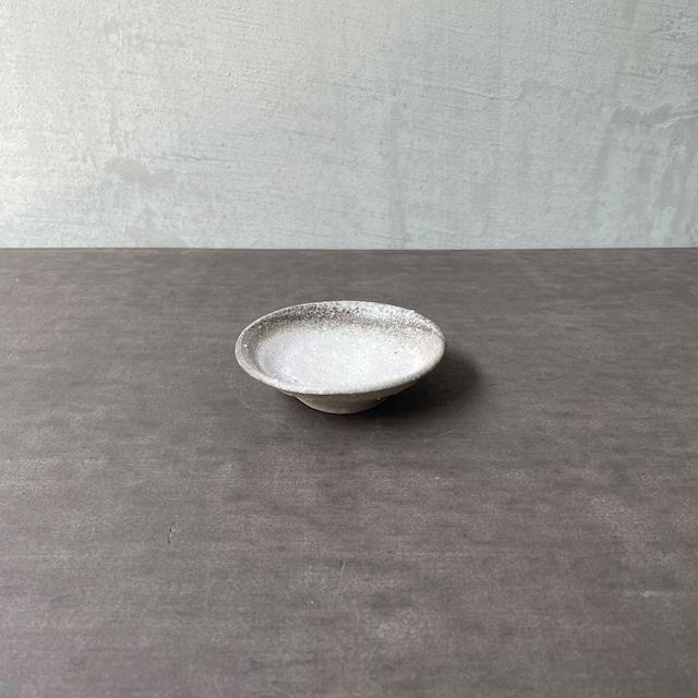 清水善行   須恵 豆皿