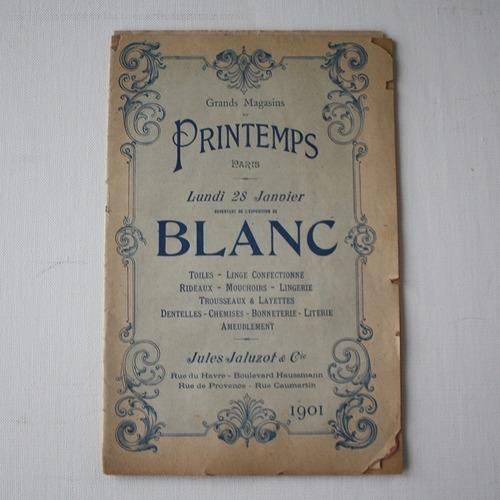 パリの百貨店  Printemps カタログ・フランスアンティーク / vp0020