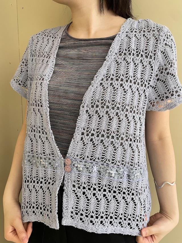 crochet cardigan / 7SSTP21-08
