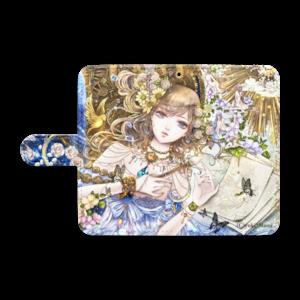 オリジナル手帳型Androidケース(S)【百年の窒素】 / yuki*Mami