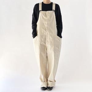 【HARVESTY】CHINO CLOTH OVERALLS (UNISEX) オーバーオール チノ サロペット 国産 日本製 ハーベスティ