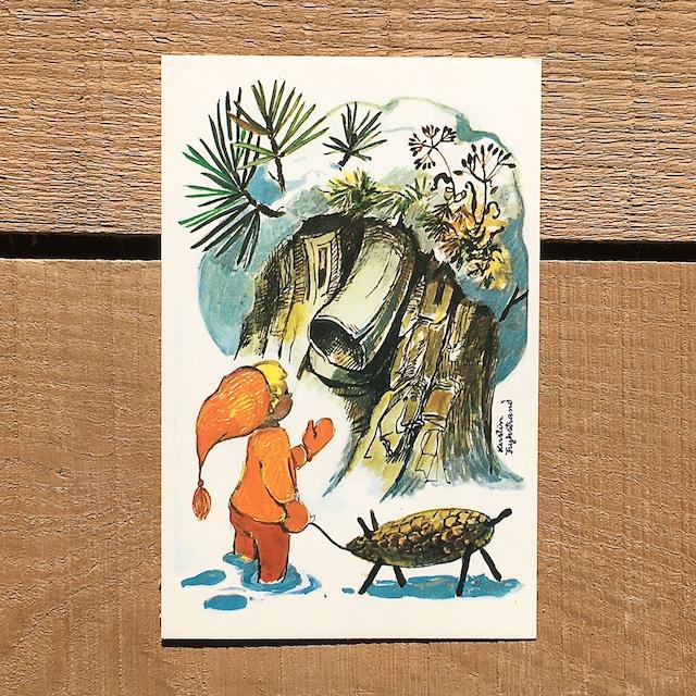 クリスマスカード「Kerstin Frykstrand(シェスティン・フリュークストランド)」《210213-02》