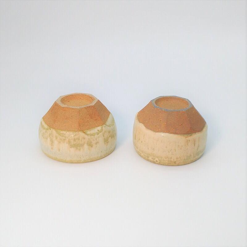 八角ミニミニ小鉢 マット2個セット 【仁 陶器工房】