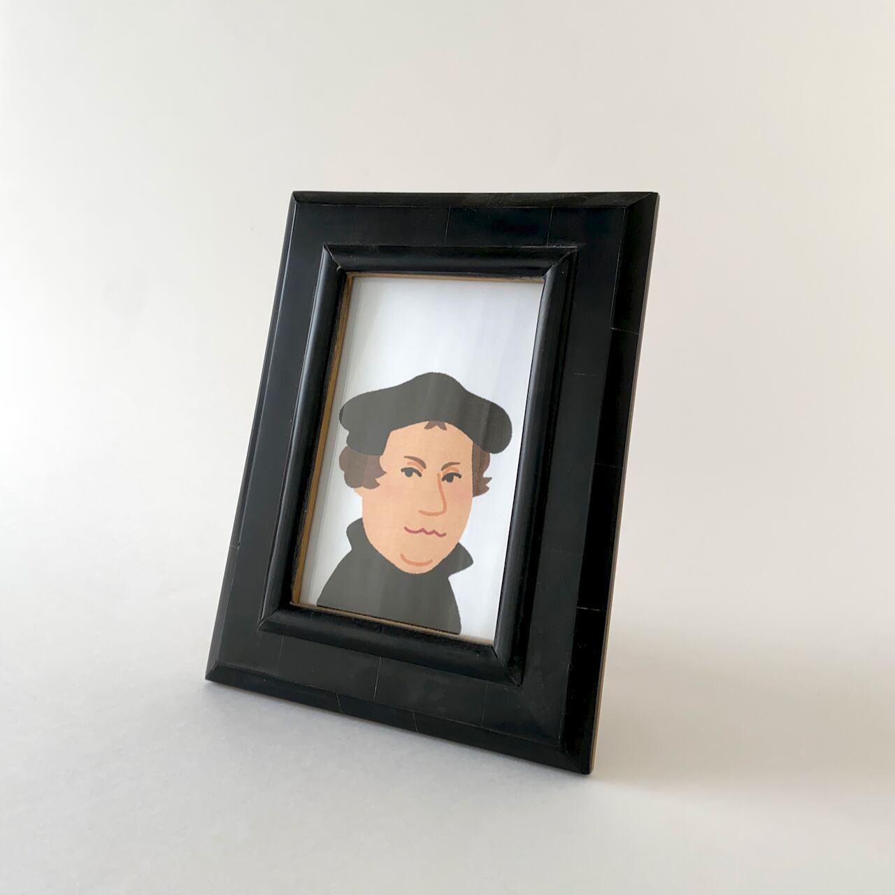 Black Resin Frame|フォトフレーム(21.5cm)
