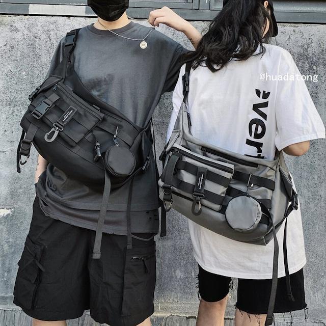 【小物】ストリート系ポケットファッション通学バッグ45962774