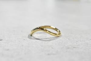 Wave Ring / K18 YG