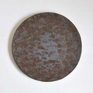 鈴木智子(いにま陶房) ひらひら皿(11-D)