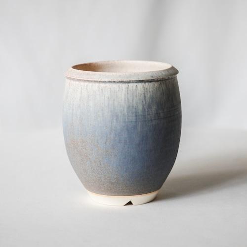Basic bowl pot(BLUE GRAY)※Medium