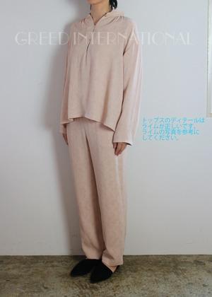 GREED(グリード) Original Flower Crepe JQ Blouse 2021春夏新作 [送料無料]